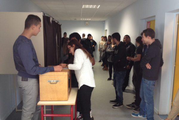 election deleegues 600x403 - Projets, la vie au collège