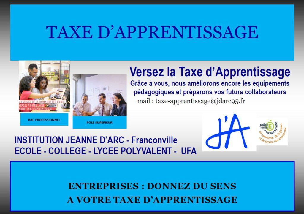 flyer2021 ta 1024x721 - Taxe d'apprentissage